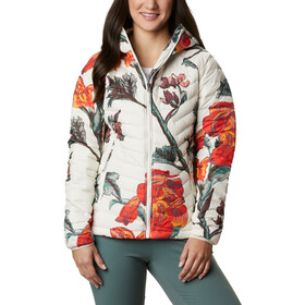 Columbia Powder Lite Hooded Jacket Women chalk botanica print